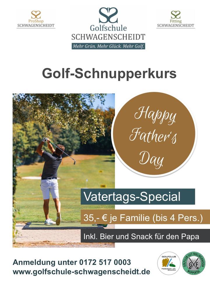 Golfschnupperkurs Vatertag