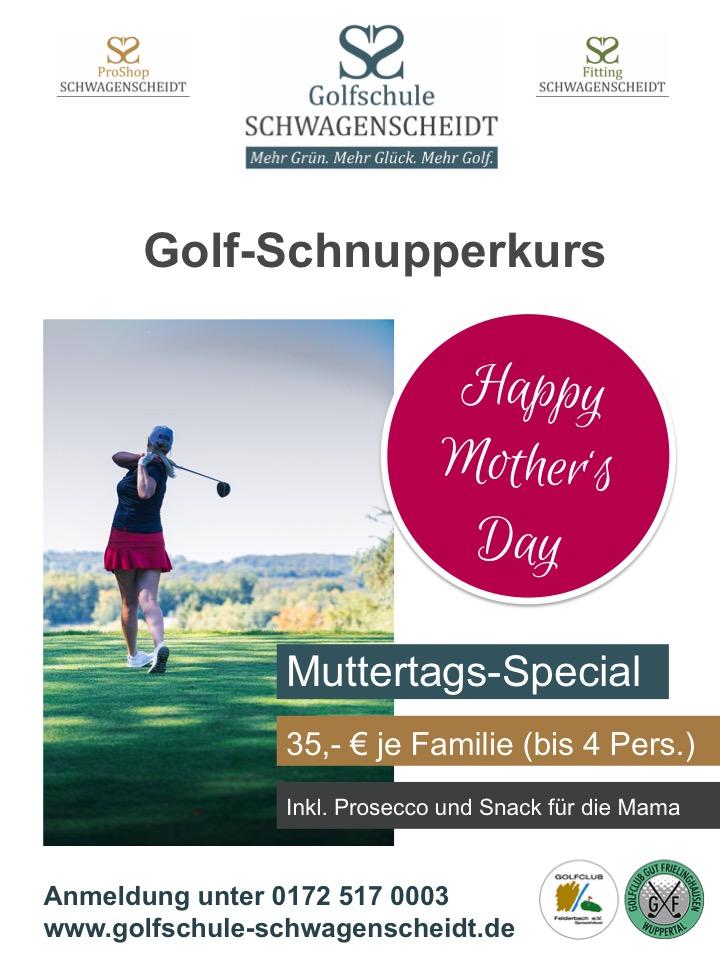 Golfschnupperkurs Muttertag